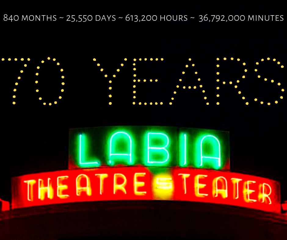 Labia Theatre - 70 years