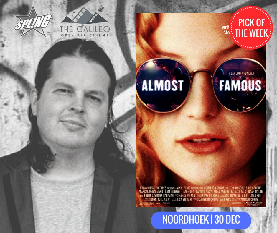 Spling's Pick of the Week - Almost Famous at Noordhoek Common
