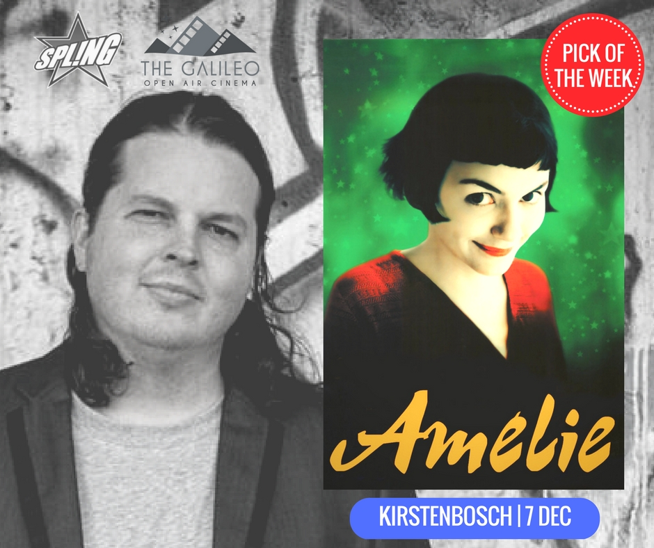 Spling's Pick of the Week - Amelie at Kirstenbosch