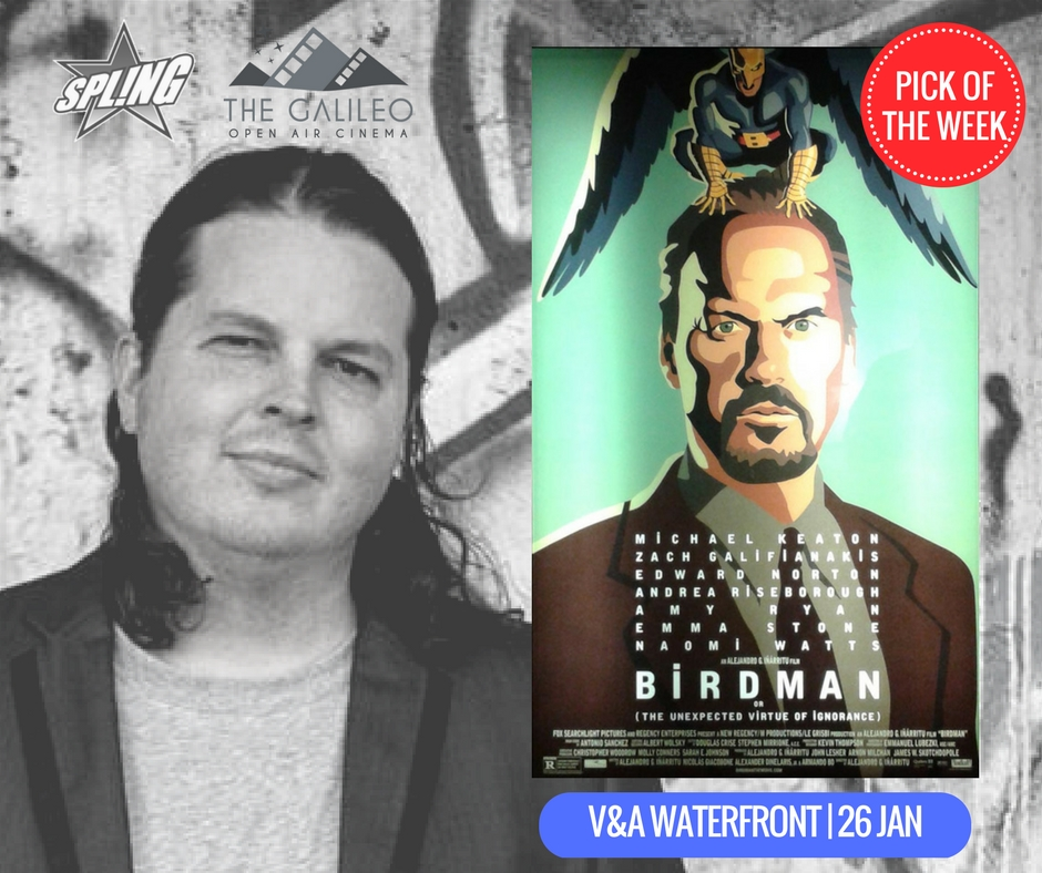 Spling's Pick of the Week - Birdman at V&A Waterfront
