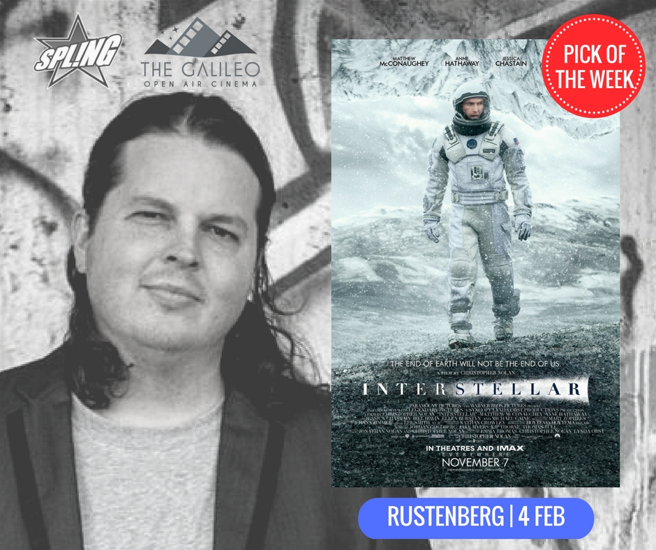 Spling's Pick of the Week - Interstellar at Rustenberg