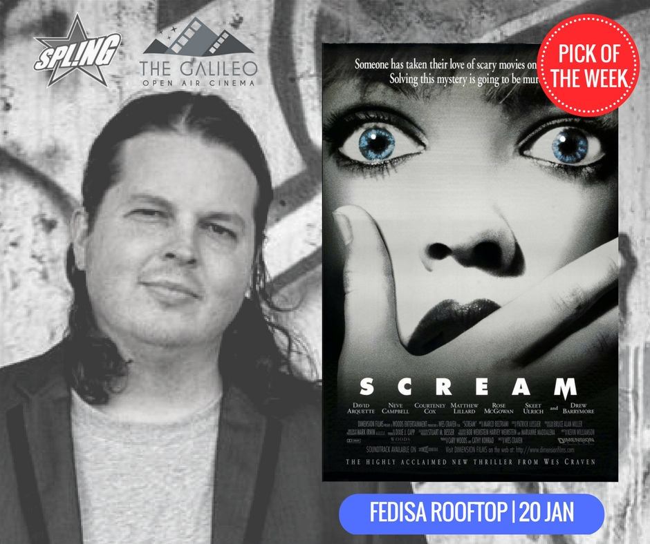 Spling's Pick of the Week - Scream at Fedisa Rooftop