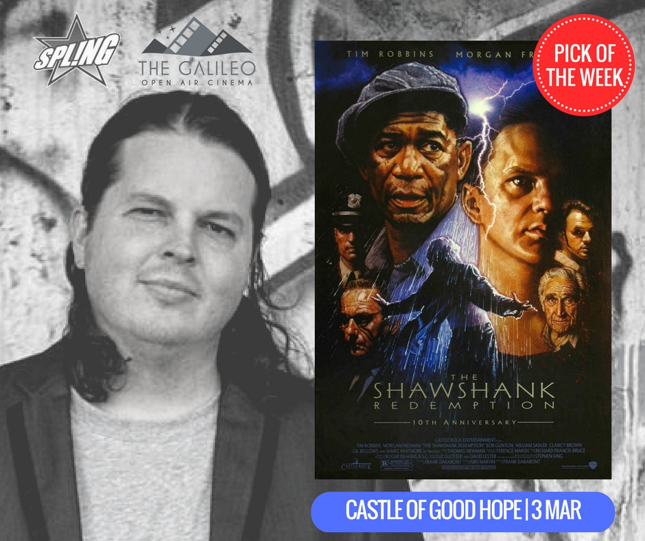 Spling's Pick of the Week - The Shawshank Redemption at Castle Of Good Hope