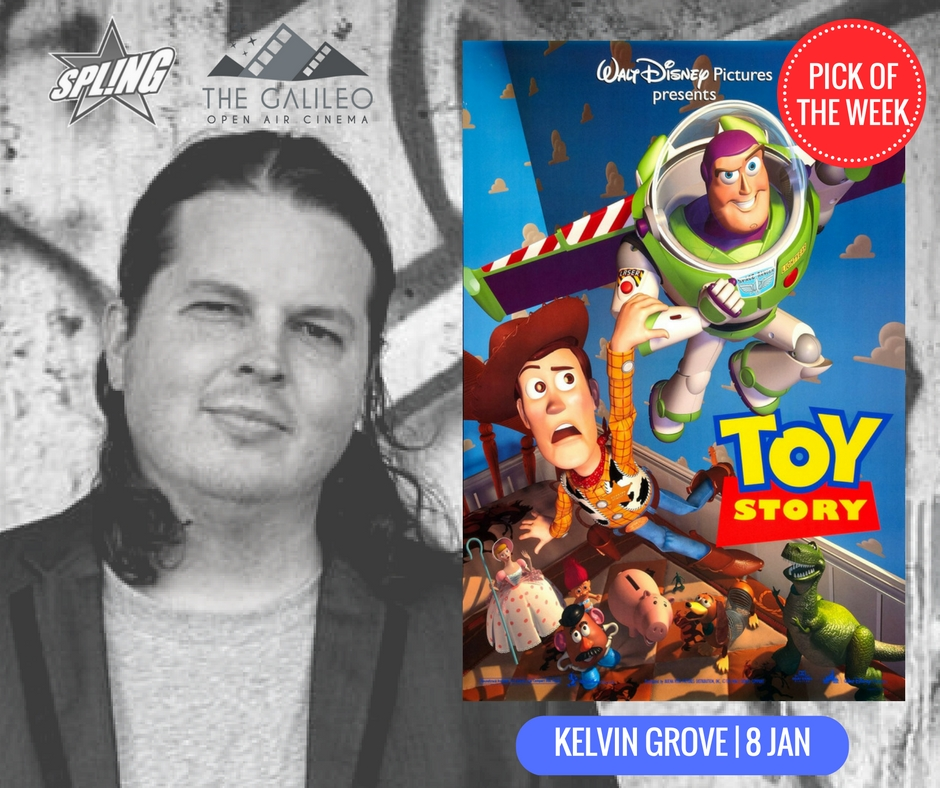 Spling's Pick of the Week - Toy Story at Kelvin Grove