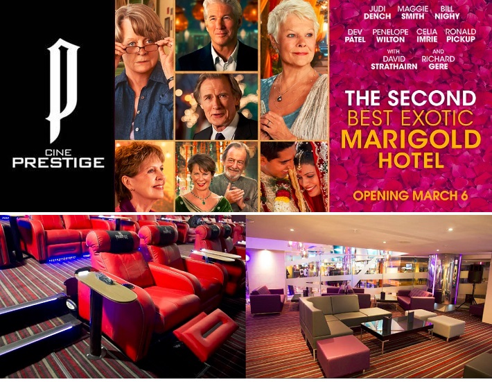 Cine Prestige - Second Best Exotic Marigold Hotel